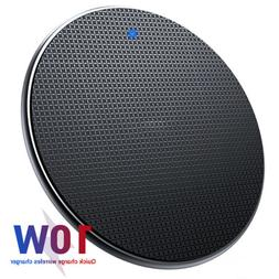 10W Fast Charging Qi Wireless Charger Pad Dock for iPhone 11
