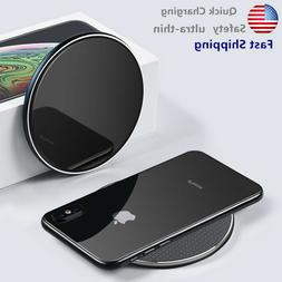 NEW 10W Qi Wireless Fast Charger Charging Pad Dock for cell