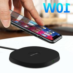 10W Wireless Charger Fast Charging Pad Mat For iPhone SE 202