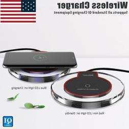 2020 NEW Qi Fast Wireless Charger Charging Pad for Samsung G
