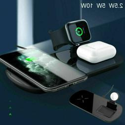Fast Charging Qi Wireless Charger Pad Dock Adapter For iPhon