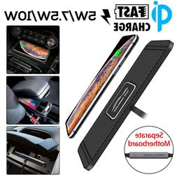 Car QI Wireless Phone Charger Pad Mat Fast Charging 5/7.5/10