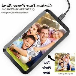 Custom Personalize Picture for QI Wireless Charging Pad Mat