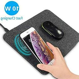 Fast Wireless Large Charging Gaming Mouse Pad Case-friendly