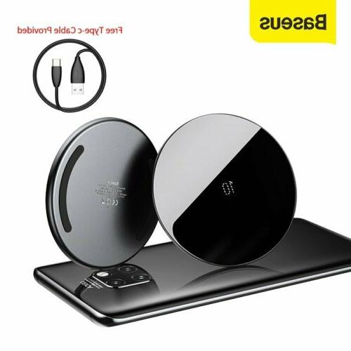 10w qi wireless charger fast charging pad