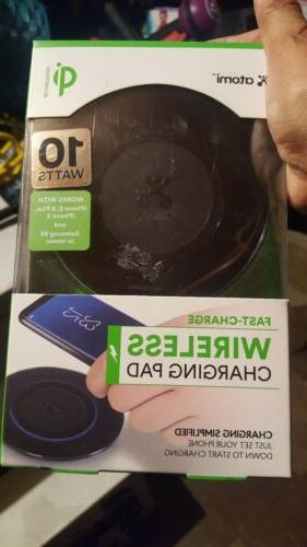 fast charge qi wireless charging pad new