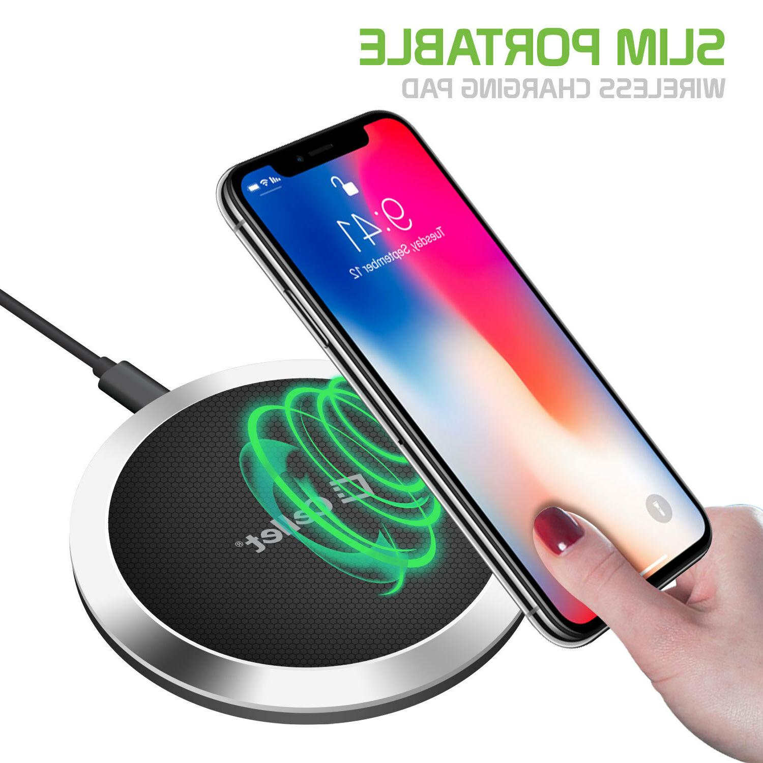 Cellet QI Ultra-Slim Wireless Charging X 8+ Galaxy Note 8 S9+