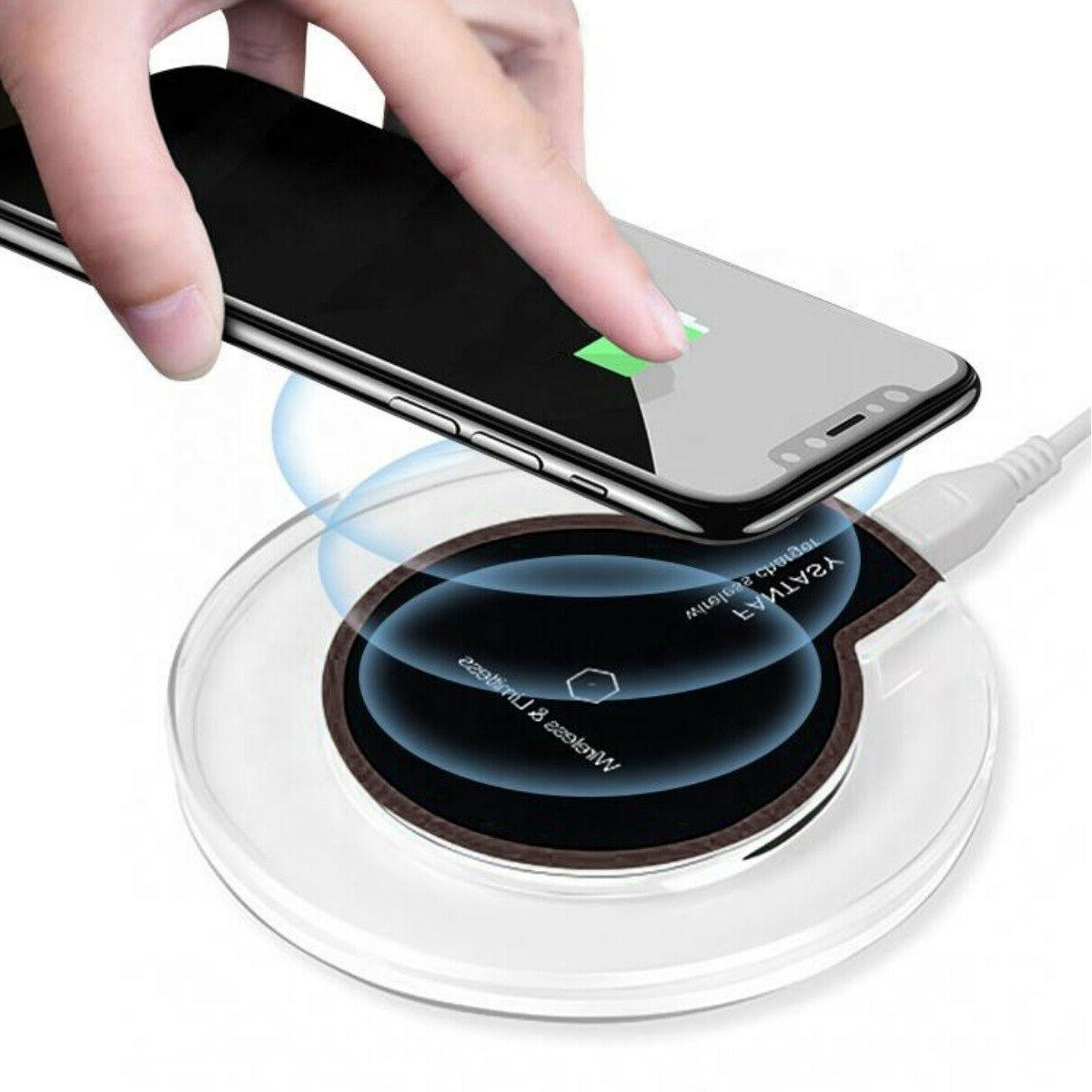 Qi Wireless Charging Pad for iPhone Note