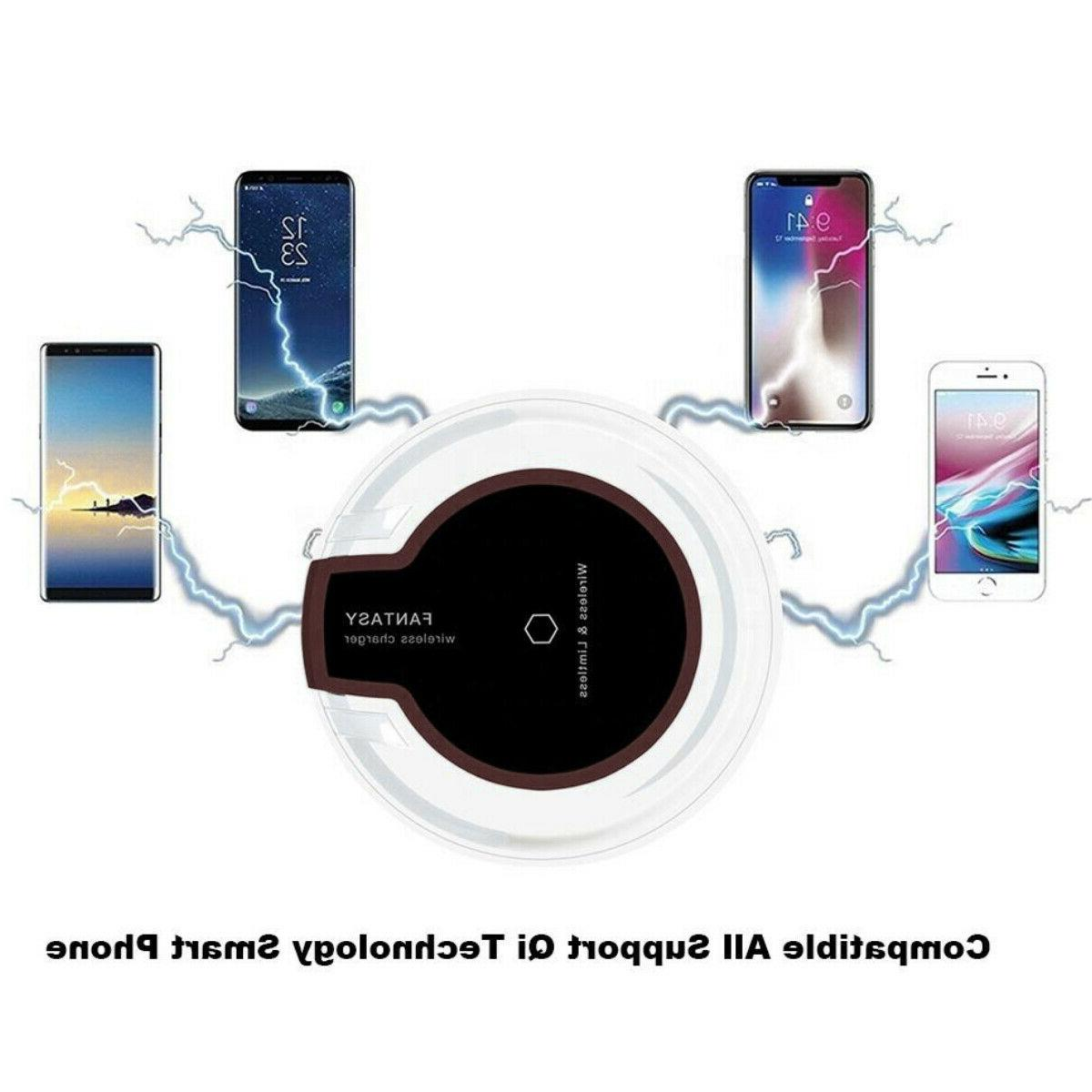 Qi Pad for 11/Pro/Max/XS/8/Galaxy Note