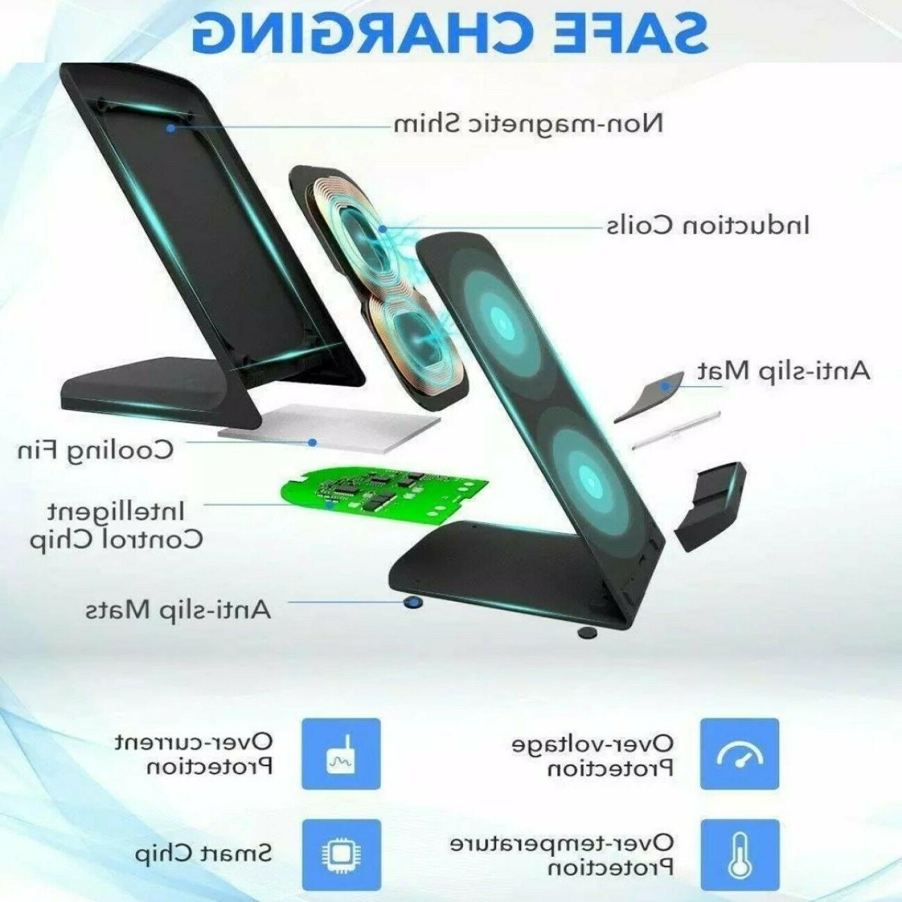 Qi Charging for iPhone Android LG