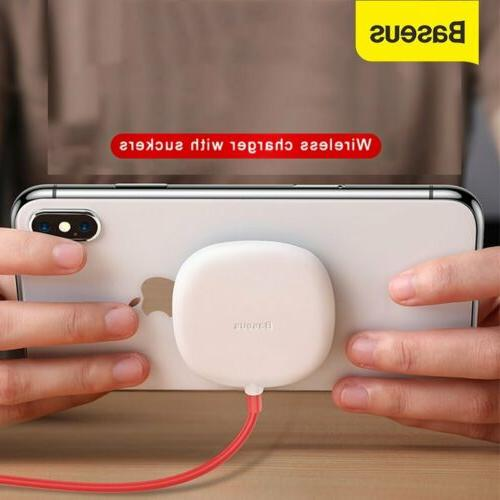 wireless charger spider suction cup charging pad