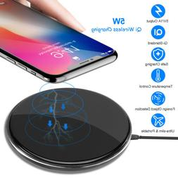 For iPhone X 8 Galaxy Note 8 S9 S8 Qi Wireless Charger Pad C