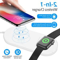 Qi Fast Wireless Charger Charging Pad for iPhone 11/Pro/Max/