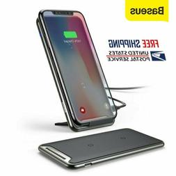 Baseus QI Wireless Charger Dock Charging Pad for iPhone XS S