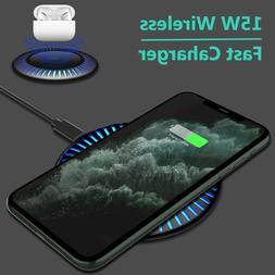 Qi Wireless Charger Fast Charging Dock Stand Pad For AirPods