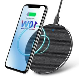 Qi Wireless Charger Fast Charging Pad for iPhone 11 Pro Max