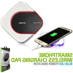 Qi Wireless Charger Pad Charging Dock for iPhone X 8 8+ Gala