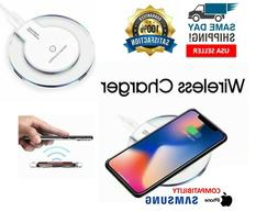 QI Wireless Charger Pad Charging iPhone 11 Pro Max XR Galaxy