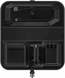 mophie Travel Kit - Portable, Wireless Charging for Samsung,