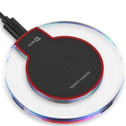 JETech Qi Wireless Charger Pad Dock for iPhone 11 X 8 plus X