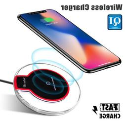 US Qi Wireless Fast Charger Charging Pad Dock for cell Phone