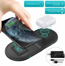 MoKo Wireless Charger Duo Pad for Samsung Galaxy 42/46mm,Gal