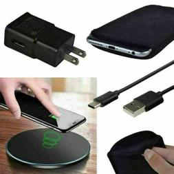 Wireless Charger Pad Wall Charging Cable Bag Case for Samsun