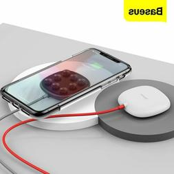 Baseus Wireless Charger Suction Cup Charging Pad for Samsung