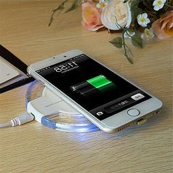 Wireless Fast Charger Charging Pad Station Dock Stand Holder
