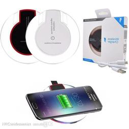 Qi Wireless Fast Charger Dock Charging Pad For iPhone 8 8Plu