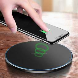 Qi Wireless Phone Fast Charger Charging Pad For Samsung Gala